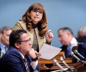 La députée caquiste Nathalie Roy.