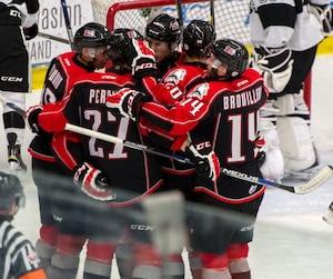 Les Huskies de Rouyn-Noranda ont remporté hier leur 40e victoire de la saison en disposant de l'Armada de Blainville-Boisbriand 2 à 1.