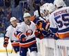 Dans le premier match de la série entre les Islanders et le Lightning, Shane Prince a inscrit deux filets en première période.