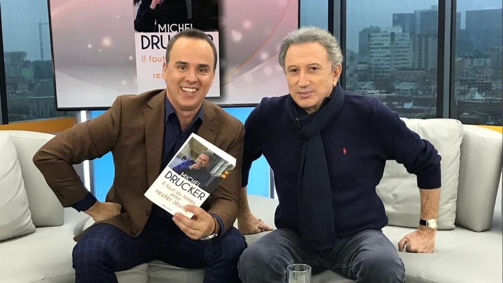 Michel Drucker anime la grande revue musicale Francostalgie!