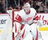 Jonathan Bernier en sera à une deuxième saison à Detroit. L'an dernier, le gardien québécois a présenté une fiche de9-18-5 avec une moyenne de 3,16.