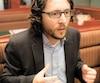 Vincent Carrier est membre de Mensa Montréal, un groupe de personnes douées qui se rencontrent tous les mois. L'homme de 36ans a raconté son histoire au Journal lors d'un dîner-causerie du groupe au centre-ville il y a quelques semaines.