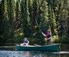 Le parc des Grands-Jardins regorge de lacs de petite taille qui offrent une qualité de pêche exceptionnelle.