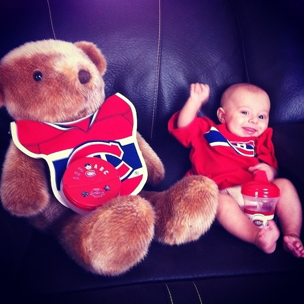 Zack Morency, fier partisan du CH! Go habs go!!!