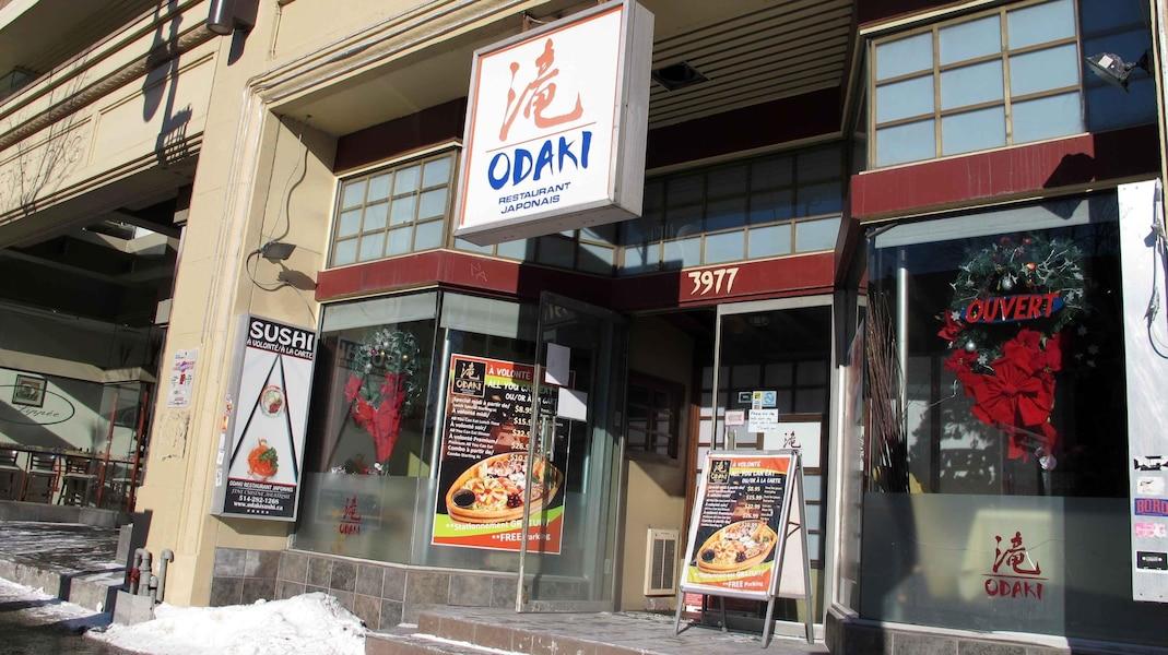 Incendie Du Restaurant Sushi