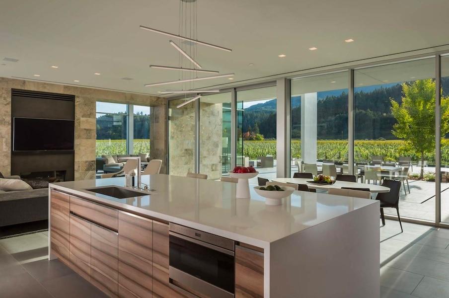 Demeures de r ve un vignoble californien et sa maison for Maison hyper moderne