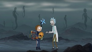 Image principale de l'article Rick et Morty font la promotion de Death Stranding