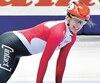 Avec un tour et demi à jouer dans la première ronde de 1500m, Marianne St-Gelais a heurté sans raison la Chinoise Yihan Guo qui la précédait pour ensuite s'étendre sur la glace.