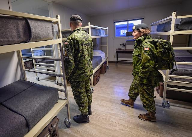 La Base militaire de Valcartier a mis le paquet même si l'accueil des migrants reste hypothétique