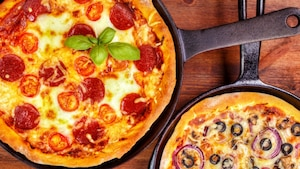 Pizza à la poêle