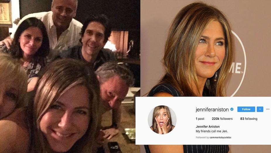 Image principale de l'article Jennifer Aniston rejoint Instagram