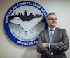 Denis Gallant, l'inspecteur général de la ville de Montréal, à son bureau à Montréal.