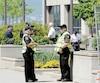 Les policiers du SPVQ ont été sollicités beaucoup plus en 2017 pour gérer la circulation.