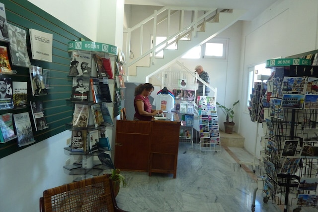 La sympathique librairie de la Casa de las Americas.