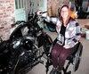 Camille René aimerait se rendre chez sa sœur au Nouveau-Brunswick, cet été, au volant de sa Harley, qui sera adaptée avec l'équipement d'appoint permettant aux motocyclistes de maintenir leur équilibre sans leurs jambes.