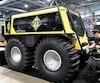 Nul doute que le Fat Truck de la compagnie UTS va attirer l'attention des visiteurs. Il peut passer à peu près partout et affronter les pires conditions.