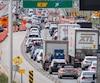 Bloc travaux congestion pont Champlain