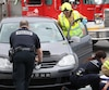 Une dame âgée dans la cinquantaine a subi de sérieuses blessures lorsqu'elle a été frappée par une automobiliste jeudi matin, à l'angle de la 1ère avenue et de la 41e rue Ouest à Charlesbourg.