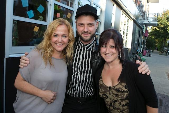 Brigitte Lafleur, Pierre Lapointe et Marie-Hélène Thibert.