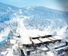 Le premier Village Club Med au Canada verra le jour d'ici la fin 2020. Ses promoteurs prévoient un achalandage de 50 000 clients et 210000 nuitées vendues par année. Sur la photo, on voit une esquisse d'une partie du projet.
