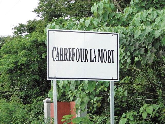 En Haïti, le nom de certains villages donne à réfléchir.