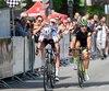 Les cyclistes participant au Tour de Beauce ont fait un arrêt remarqué à Québec samedi dernier.