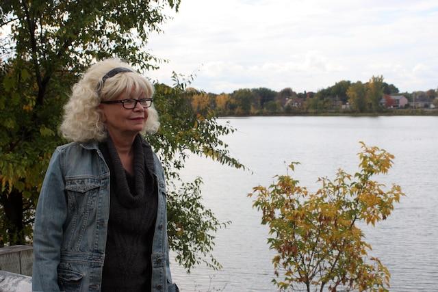 Marie Klaudia Dubé, présidente de l'association Les amis et riverains de la rivière Châteauguay.
