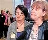 Leila Lesbet et Diane Guilbault de l'organisme Pour les droits des femmes du Québec (PDF Québec) ont défendu le PL 21 à Québec.