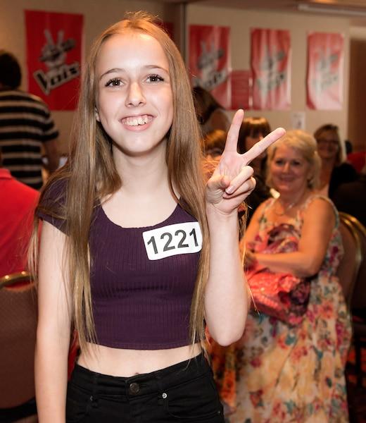 Jade Robinson, 15 ans, était sur les lieux dès 7h le matin.