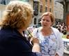 La candidate péquiste dans Taschereau, Diane Lavallée