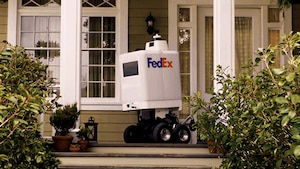FedEx teste un robot de livraison autonome