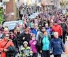 La Grande marche à Saguenay.