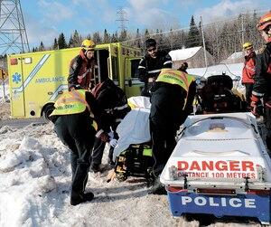 Dominique Desgagnés a été retrouvé sans vie sur les glaces de la rivière Montmorency, le 28janvier.
