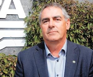 Marcel Groleau est le président général de l'Union des producteurs agricoles.