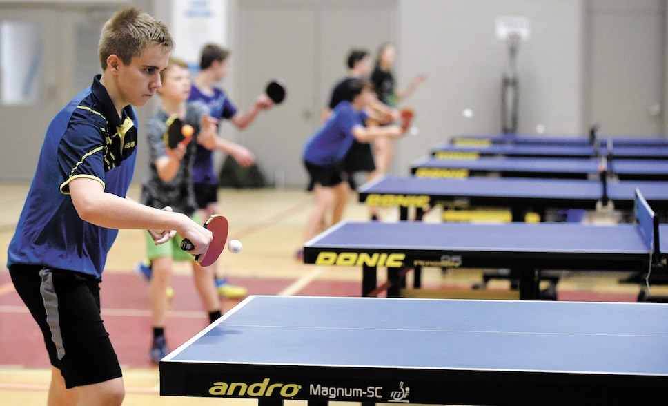 Le ping-pong a la cote au Québec
