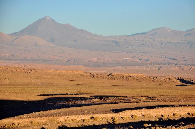 Le désert d'Acatama, du côté de San Pedro, dans l'extrême nord du pays.