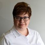 Logo de la journaliste Marianne White du Journal de Quebec, vendredi le 29 mars 2019.   STEVENS LEBLANC/JOURNAL DE QUEBEC/AGENCE QMI)