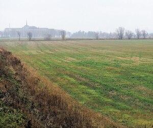 Les terres des Sœurs de la Charité, photographiées mardi, sont situées dans l'arrondissement Beauport, à Québec, à l'ouest de l'avenue du Bourg-Royal, au nord de la rue Rhéaume et au sud du boulevard Louis-XIV.