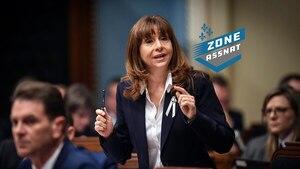 Image principale de l'article La ministre Nathalie Roy répond à Catherine Dorion