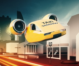 Taxi volant