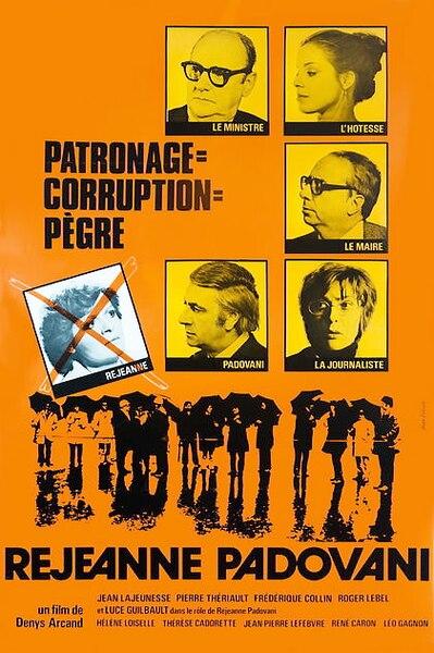 film Réjeanne Padovani...