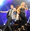 Vendredi, le spectacle de la cuvée 2012 de Star Académie a attiré plusieurs personnes au Festivent de Lévis.