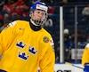 L'entraîneur-chef semble enthousiaste à l'idée d'accueillir le futur premier choix du prochain repêchage de la Ligue nationale de hockey, le défenseur Rasmus Dahlin.