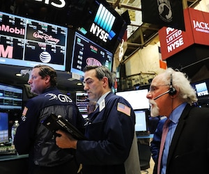 Depuis l'assermentation de Donald Trump, le 20 janvier dernier, les marchés boursiers se sont montrés beaucoup plus «timides».