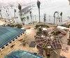 Marigot, la plus grande ville de Saint-Martin, du côté français de l'île, a été dévastée par la mer et le vent.
