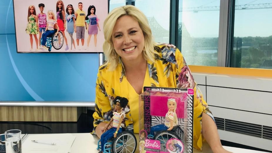 Une nouvelle Barbie en fauteuil roulant