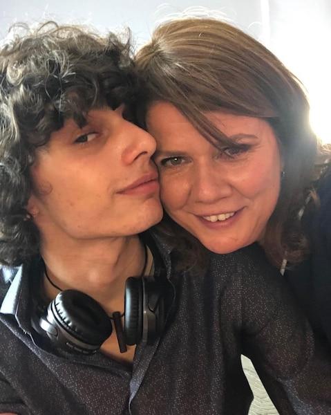 Marina Orsini Souligne Lanniversaire De Son Fils Avec Un