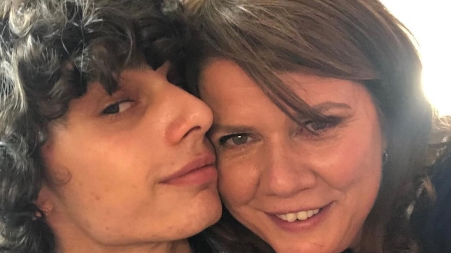 Marina Orsini souligne la fête de son fils