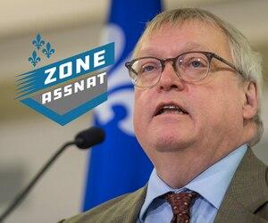 Le ministre Gaétan Barrette