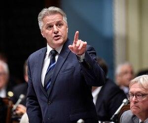 Le ministre Laurent Lessard
